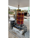 filtro de diesel para posto de combustível