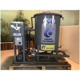filtro de óleo diesel para posto de combustível Suzano