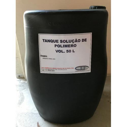 Polímero Orgânico para tratamento de água